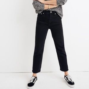 NWT Madewell Tall Classic Straight Jeans
